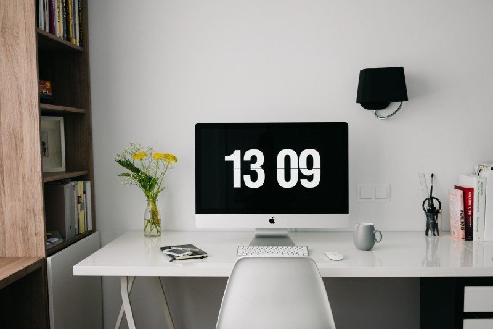 home office workspace desk design creative
